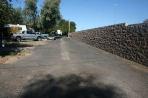 We offer amazing privacy walls around the park and well-managed roads to navigate our park.