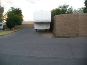 When you are not using your RV, we provide space to safely store your rig.